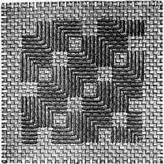 FIG. 153. TENTH PATTERN. DAMASK STITCH FOR FIGS. 104 AND 105.