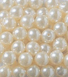Darice Big Value! 10 mm Pearl-240PK/White, , $1.99 for 240 pearls.
