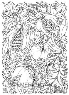Cynthia Emerlye, Vermont artist and kirigami papercutter: Adult Coloring Pages Coloring Pages For Grown Ups, Coloring Book Pages, Printable Coloring Pages, Coloring Sheets, Copics, Free Coloring, Doodle Art, Embroidery Patterns, Stencils