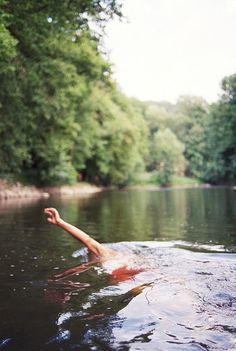 swim in the wild depths