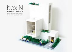 This is a little architecture project, which is my own studio in the brick city. Behold, this is not just another modular building exercise. As an architect (not a LEGO archit...