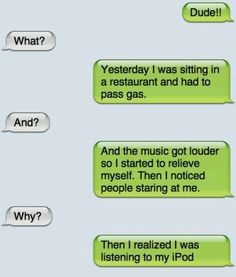 Funny texts! I. Can't. Breathe.