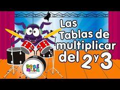 Canción Las tablas de multiplicar del 2 y 3 - Canciones Infantiles - YouTube