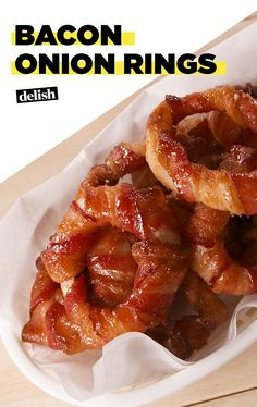 These Sweet & Spicy Bacon Onion Rings Are Pure IndulgenceDelish