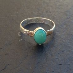 Turquoise Ring  Size 5 by GGsGems16 on Etsy