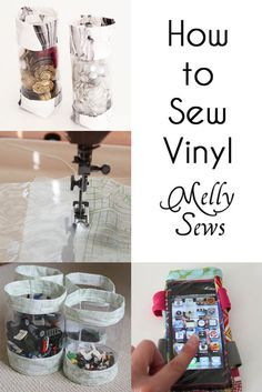 Tips for Sewing Vinyl - Melly Sews. Made it! Used her tips and they really do work. Sewing vinyl is a breeze now.