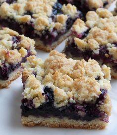 Blueberry Crumb Bars - http://stlcooks.com/2014/06/blueberry-crumb-bars-2/