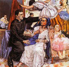 O Embaixador de Jesus - Paula Rego.