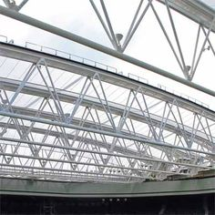 Steel framed buildings are gaining popularity in construction industry because of numerous advantages. Steel framed structures represent a perfect confluence of modern design coupled with flexibility. Steel frames in a building can be utilized to accomplish many different purposes such as use of steel garages meant for aircrafts and even for steel workshops. #spaceframe