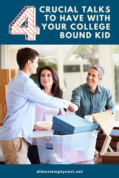 4 crucial conversations to have with your college bound student. These important conversations to have with young adult students set guidelines, expectations, and boundaries to keep kids safe and happy away from home. New College, College Years, List Of Skills, Life Skills, Crucial Conversations, Back To School Hacks, Homeschool High School, Adult Children, Students