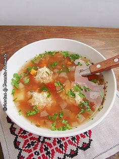 Cheeseburger Chowder, Thai Red Curry, Supe, Food And Drink, Ethnic Recipes, Home