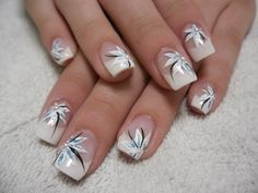 Caftan D'or Caftan Morrocco Jellaba Caftan D'or Caftan Morrocco Jellaba Caftan D'or French manicure with beautiful decorations Nail art Wedding DIY Nail Art Stickers Women's Fashion Full Nail Stickers Nail Decals Summer nails design 81 White Tip Nail Designs, French Nail Designs, Toe Nail Designs, Beautiful Nail Designs, Beautiful Nail Art, Acrylic Nail Designs, Nails Design, White Tip Nails, French Tip Nails