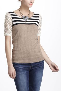 Why are you always so expensive, Anthropologie? Sigh. Striped Galao Pullover - Anthropologie.com