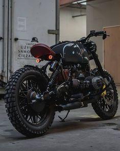 Caferacer Bobber Scrambler on quot;BMW in Porsche Slategrey . Bobber Bmw, Scrambler Motorcycle, Bmw Motorcycles, Custom Motorcycles, Custom Bikes, Bike Bmw, Scrambler Custom, Custom Bmw, Bmw Cafe Racer