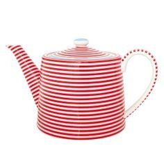 teapot / GreenGate Teekanne Juliet Red / nostalgie im kinderzimmer / €42.50