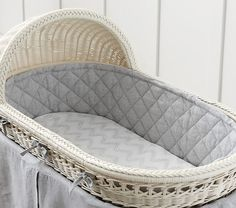 belgian flax linen bassinet bedding - Bassinet Bedding