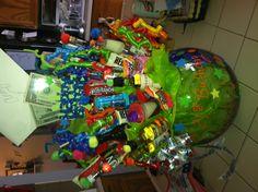 """21st birthday present: """"basket of shots"""""""