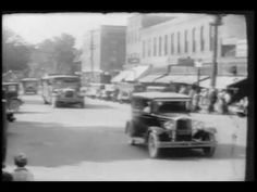 A look at the tranquil town of Auburn, Indiana. A parade of Auburn Cords and Duesenbergs, people motorboating and diving in a lake and a guy setting off fire. South Bend, Home Movies, In High School, Auburn, Indiana, Cord, Travel, Electrical Cable, Viajes