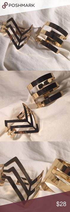 H&M ARM CUFFS Worn once • in a great condition H&M Jewelry Bracelets