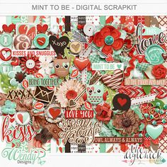 Mint to be by Wendy P Designs