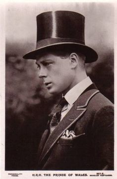 H.R.H. Edward VIII. - the king who abdicated
