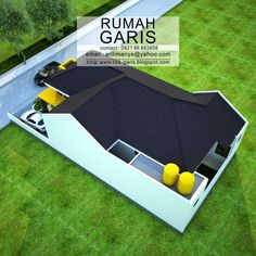 jasa desain rumah online Home Design Plans, Plan Design, Storage Building Plans, Simple Floor Plans, Roof Trusses, Bungalow House Plans, Shed Plans, My Dream Home, Interior And Exterior