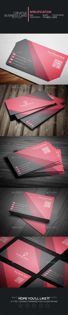 Creative Business Card Template #design Download…