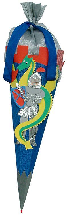 Jungs Schultüte Ritter inkl. Schulstarterpaket finden Sie unter 1st Day, Html, Kindergarten, School Kids, Entering School, Knight, School, Guys, Creative