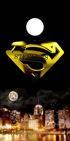 Except change up the Steelers to be NY and Superman But Football, Pittsburgh Steelers Football, Pittsburgh Sports, Best Football Team, Steelers Raiders, Steelers Gear, Here We Go Steelers, Steelers Stuff, Steeler Nation