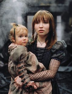 Lemony Snicket's A Series of Unfortunate Events - I love Violet's hair!