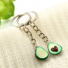 A set of 2 keychain with avocado design will be a simple and lovely present for you and your best friend. We offer free shipping worldwide. Mini keyring for 2 friends | Lovely keychain ideas for best friend | Keychain for 2 friends | Gift ideas for best friend teen #buyavocadokeychain, #coolavocadokeychain, #avocadokeychainset, #avocadofriendshipkeyring, #avocadokeychainbff, #cheapavocadokeychain, #couplegiftideas, #bestfriendgiftforteen, #jewelrystore, #cheapshoppingonline