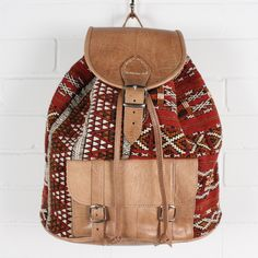 tribal and leather.