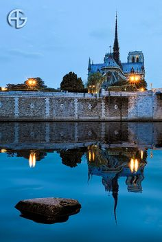 Notre-Dame by A.G. Photographe, via Flickr