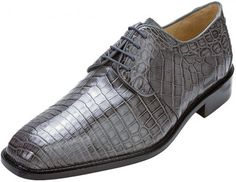 Grey All-Over Genuine Nile Crocodile Shoes, I like