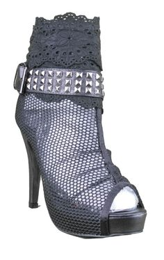 Amazon.com: Iron Fist Meshed Up Bootie - Black: Iron Fist: Shoes (a favourite repin of VIP Fashion Australia www.vipfashionaustralia.com )
