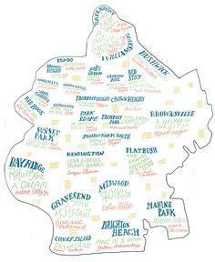 A Brooklyn Literary Map: The Best Book for Each Brooklyn Neighborhood... Brooklyn has a rich literary history