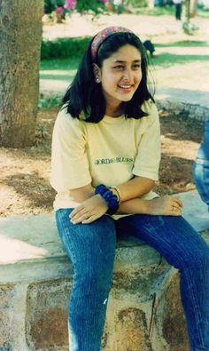 Kareena Kapoor Khan in childhood Cute Celebrities, Indian Celebrities, Bollywood Celebrities, Celebs, Bollywood Photos, Bollywood Stars, Bollywood Fashion, Bollywood News, Kareena Kapoor Photos