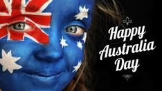 australia day face paint, beautiful, Google Search