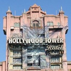 Tower of Terror (Disney World and Disneyland)