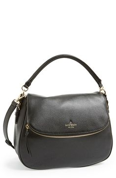 Free shipping and returns on kate spade new york 'cobble hill - devin' satchel at Nordstrom.com. A clean-lined satchel shaped from finely pebbled leather with a fold-over zip-pocket flap provides an effortlessly sophisticated finish for your street style.