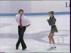1994 Lillehammer Olympic Ice Dance Oksana Grishuk & Evgeni Platov FD Rock`Roll. 1 - place