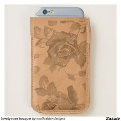 lovely rose bouquet iPhone 6/6S case