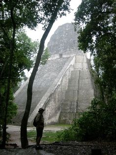 Tikal was a major power during the Classic Period of the Maya. Now as a World Heritage site thousands of visitors explore these fascinating ruins in the Peten rain forest of Guatemala.
