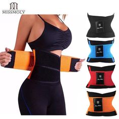 Waist Trainer Belly Slimming Belt   Waist Cincher For Women Men   Sheath Shapewear Tummy Corset Obscene Picture: No Sexually Suggestive: No Material: Spandex Material: Polyester Item Type: Shapers Thickness: STANDARD Fabric Type: Satin Control Level: Firm Gender: WOMEN Model Number: Body Shaper Belt Decoration: NONE Shapewear: Waist Cinchers Color: Black, Blue, Red, Orange Item location: United States, Material: Shell:Polyester100%;Lining:Neoprene100% Function1: Waist trainer, slimming body shap Waist Trainer For Men, Waist Trainer Corset, Sport Style, Fashion Kids, Diva Fashion, Womens Fashion, Fashion Trends, Sixpack Workout, Workout Fitness