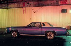 Cars were an indispensible aspect of twentieth-century culture, both for their utility and aesthetics. From 1974 to 1976,Langdon Clayphoto...