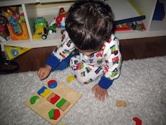 Montessori inspired activities for my 2 year old