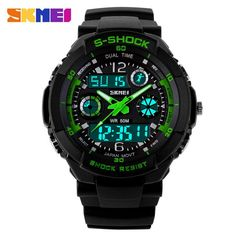 S SHOCK 2016 New SKMEI Brand Men Military Sports Watches Digital LED Quartz Excellent Quality Watch (Guaranteed satisfaction)! ADD TO CART FREE SHIPPING (2-4 Business Weeks) Item Type: Analog & Digita