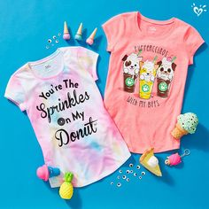 Treat her to comfy, colorful tops with fun graphics. Tween Fashion, Teen Fashion Outfits, Trendy Outfits, Kids Outfits, Cool Outfits, Fashion Clothes, Winter Outfits, Tween Trendy Clothes, Justice Clothing