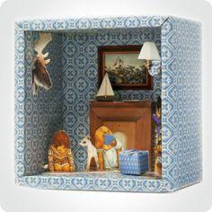 Boîte à histoire petit salon