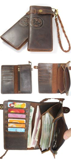 LEATHER MXS WALLET by Neo Handmade
